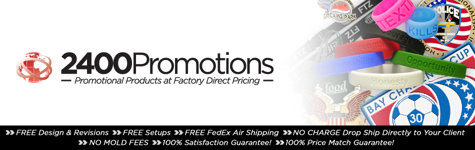 2400 Promotions : Promotional Products at Factory Direct Pricing